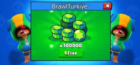 Brawl Stars 100.000 Elmas Hilesi 2021